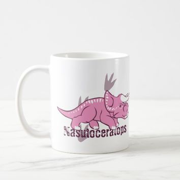 Cute Nasutoceratops Coffee Mug