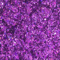 Tiny Glitter Flakes - Dark Purple