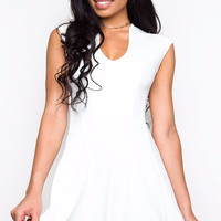 Real Love Dress - White