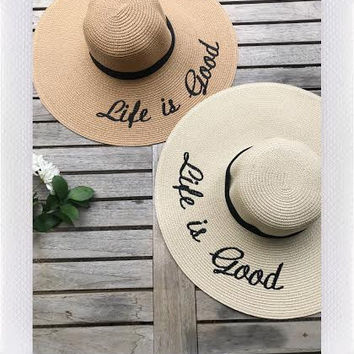 LIFE IS GOOD HAT- MORE COLORS from shopoceansoul