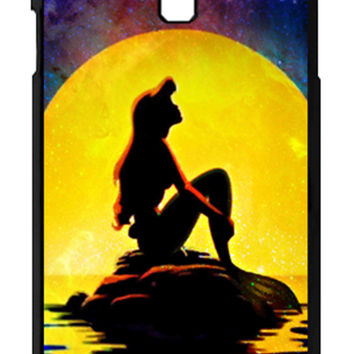 The Little Mermaid Disney Movie silhouette Samsung Galaxy S4 Cases - Hard Plastic, Rubber Case
