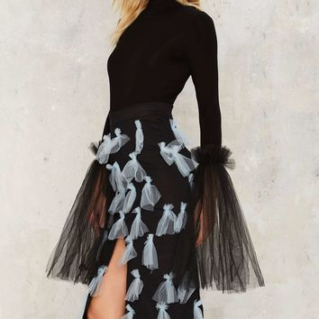 House of Cards Elles Bow Skirt