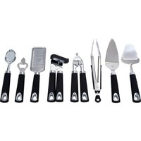 Maxam® 8pc Stainless Steel Kitchen Tool Set