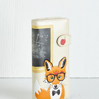 Quirky Mathematic Mr. Fox Wallet by ModCloth