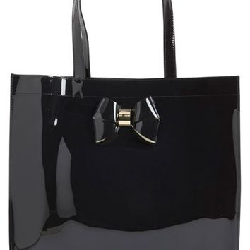 Ted Baker London 'Sumacon' Plain Bow Large Tote | Nordstrom