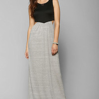 Sparkle & Fade Open-Side Colorblock Maxi Dress - Urban Outfitters
