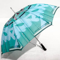 Photo Umbrella Blue Graffiti Tagging - Unique Practical Holiday Gift