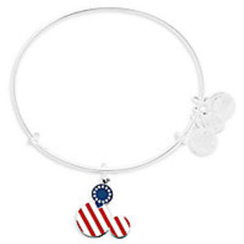 Mickey Mouse Icon Flag Bangle by Alex and Ani