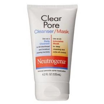 Neutrogena® Clear Pore Daily Cleanser/Intensive Dual Mask - 4.2oz