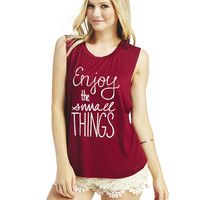 The Small Things Tank | Wet Seal