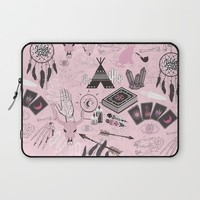 The gypsy Collection - Wild and Free Laptop Sleeve by Sara Eshak