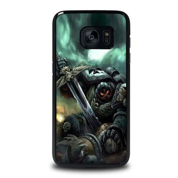 WARHAMMER BLACK TEMPLAR Samsung Galaxy S7 Edge Case Cover