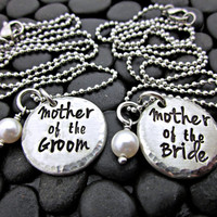 Mother of the Bride and Groom - Wedding Necklace - Mother in Law