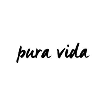 Pura Vida Temporary Tattoo