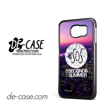 5 Seconds Of Summer 5SOS 5 SOS City Logo For Samsung Galaxy S6 Samsung Galaxy S6 Edge Samsung Galaxy S6 Edge Plus Case Phone Case Gift Present YO