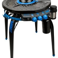 Blacktop 360 HFI Premium Party Hub Grill/Fryer, Black/Blue (Discontinued by Manufacturer)
