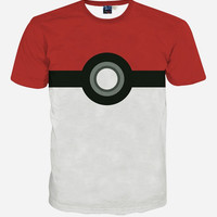 Pokemon Pokeball T-Shirt 2016