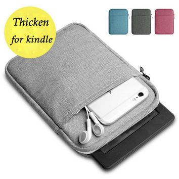 6 inch ebook Case for Kindle Paperwhite 2 3 Case for Voyage Thick Kindle Case Cover Pocketbook Sleeve for kobo Tablet Pouch