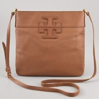 Tory Burch Stacked Logo Messenger Bag | SHOPBOP