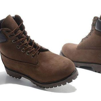 PEAP8KY Timberland Rhubarb Boots 2018 Brown Waterproof Martin Boots