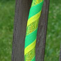 LeMoN LiMe GLOW Collapsible Hula Hoop - made to order