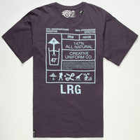 Lrg Formula 147 Mens T-Shirt Plum  In Sizes