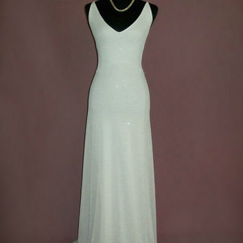 Backless Long White Dress (Agnes Dress)