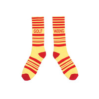 STRIPED HOCKEY SOCK YELLOW – Odd Future