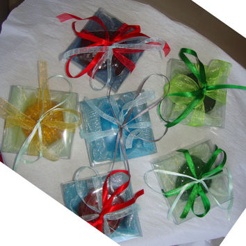 Handmade Special Guest Gifts/Party Favors - Set of 14 Scented Soaps boxes! Ideal for Party, Birthday, Feast, Baptism, Wedding,  Engagement