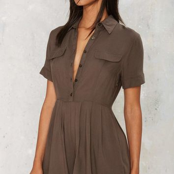 Pocket to the Moon Pleated Romper