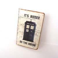 Dr Who Journal, Tardis Notebook, Pocket Moleskine, Doctor Who, Geekery, Dr Who Gifts, Geek Gift, Sci Fi Journal