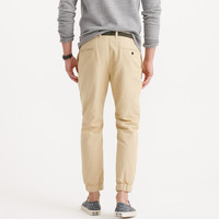 JOGGER PANT IN GARMENT-DYED COTTON-LINEN