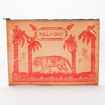 Full of Shit Jumbo Pouch in Tiger