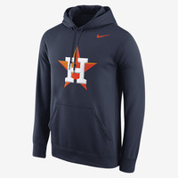 The Nike Logo (MLB Astros) Men's Performance Hoodie.