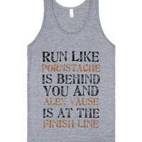 Run! (Unisex American Apparel Tank in Various Colours &