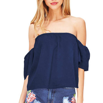 Hover Off Shoulder Blouse