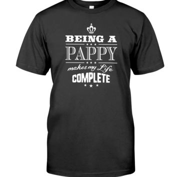 Being a Pappy Makes My Life Complete Father's Day T-shirt Men