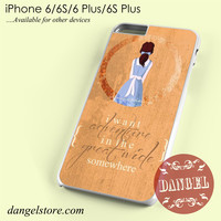 Beauty And The Beast Belle Quotes Phone case for iPhone 6/6s/6 Plus/6S plus