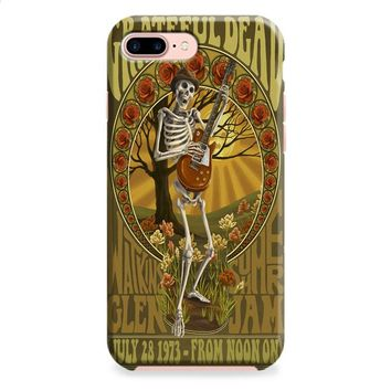 Grateful Dead (elaborate frame skeleton) iPhone 8 | iPhone 8 Plus Case