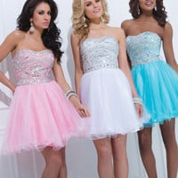 Tony Bowls Short Prom Dress 11463