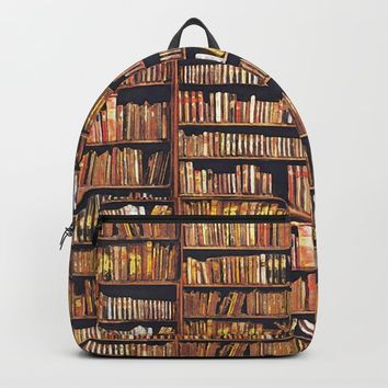 Books, books, books Backpack by anipani