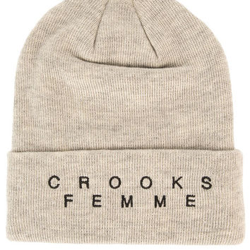 The Lost Girls Beanie in Heather Oatmeal