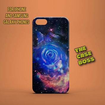 COSMIC ROSE UNIVERSE Design Custom Phone Case for iPhone 6 6 Plus iPhone 5 5s 5c iphone 4 4s Samsung Galaxy S3 S4 S5 Note3 Note4 Fast!