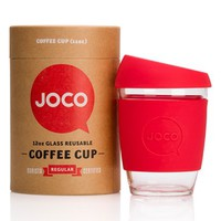 Joco Cups 12 oz. Reusable Glass Coffee Cup
