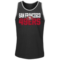 Majestic San Francisco 49ers Long Bomb Tank Top