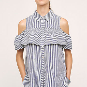 Scilla Open-Shoulder Top