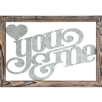 "Stratton Home Decor Wall Hanging """"You and Me"""""