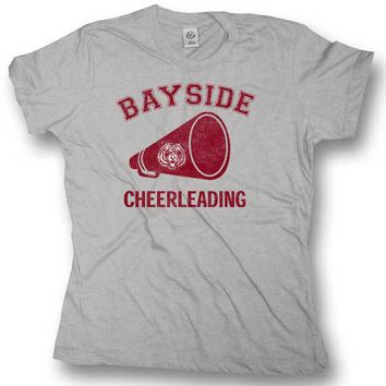 Saved By the Bell Bayside Cheerleading Juniors Tee