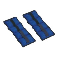 Sunny Health & Fitness 2.5-lb. Ankle/Hand Weights - 2pk. (Blue)