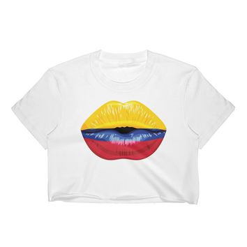 Colombian Flag Crop Top / Colombia / Colombian Flag t shirts